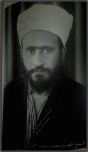 العلامة محمد سعيد العرفي